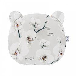 Bonjour Cherie Bambusowa Poduszka Miś Orchidea