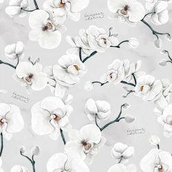 Bonjour Cherie Bambusowe Prześcieradło z Gumką 60x120cm Orchidea