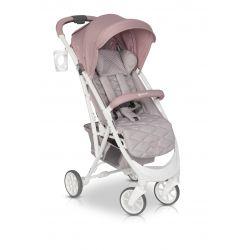 Euro Cart Volt Pro 2021 Wózek Spacerowy do 22 kg Powder Pink