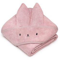 Memi Bambusowy Ręcznik Rabbit 85x85 Powder Pink
