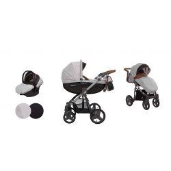 BabyActive Mommy Wózek 2w1 3w1 4w1 Gray Star 06