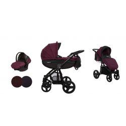 BabyActive Mommy Wózek 2w1 3w1 4w1 Plum 08