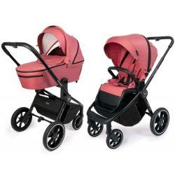 Muuvo Quick 3.0 Wózek 2w1 Głęboko Spacerowy Pure Pink