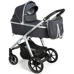 Baby Design Bueno New Wózek Głęboko Spacerowy 2w1 17 Graphite