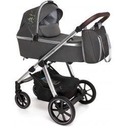 Baby Design Bueno Wózek Głęboko Spacerowy 2w1 117 Graphite