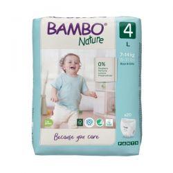 Pieluchomajtki Bambo Nature 4 Maxi 7-14kg, 20 szt.