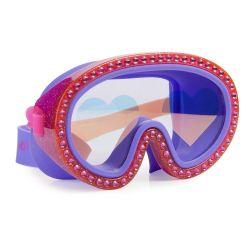 Bling2O Maska do Pływania Malinowe Serca