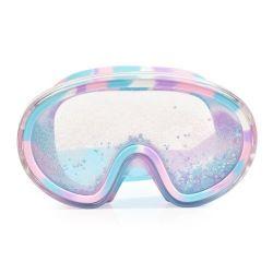Bling2O Maska do Pływania z Błękitnym Brokatem i Gwiazdkami