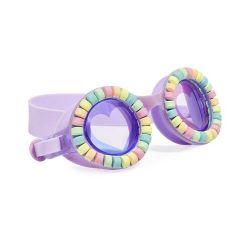 Bling2O Okulary do Pływania Lovely Lilac Pudrowe Cukierki...