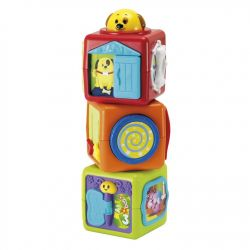 Smily Play Zabawka Edukacyjna Wieża z Klocków