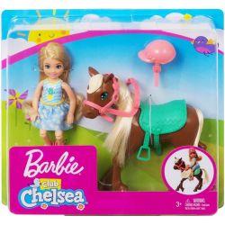 Barbie Chelsea Club Laleczka Chelsea z Kucykiem