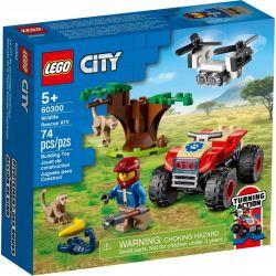 Lego City Quad Ratowników Dzikich Zwierząt