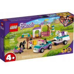 Lego Friends Szkółka Jeździecka i Przyczepa dla Konia