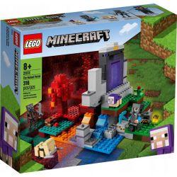 Lego Minecraft Zniszczony Portal