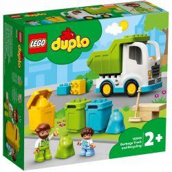 Lego Duplo Śmieciarka i Recykling