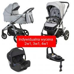 Baby Design HUSKY z Gondolą XL Wózek Głęboko Spacerowy 2w1...