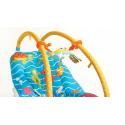 Leżaczek Tiny Love wibrujący z regulowanymi pałąkami Podwodny świat KURIER GRATIS