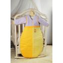 Śpiworek bakteriostatyczny Feretti 100 Plus Bee Yellow