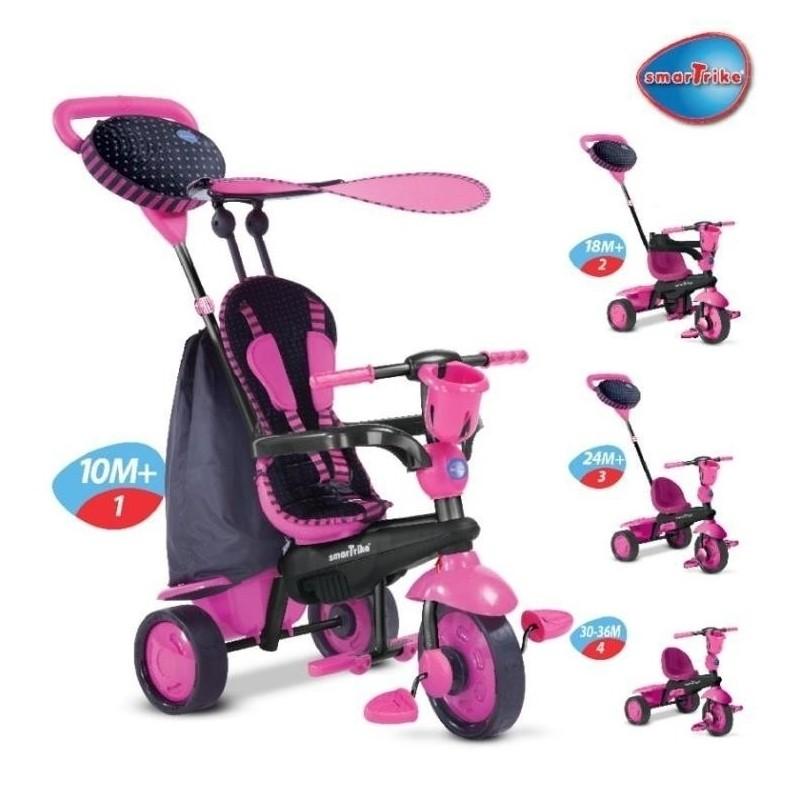 Smart Trike Spark Rowerek 4w1 Różowy