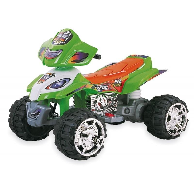 Baby Mix Quad na Akumulator Zielony