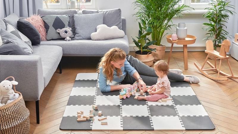 Kinderkraft Mata Piankowa Puzzle Luno