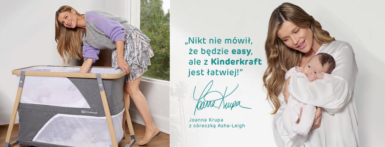 Joanna Krupa ambasadorką marki Kinderkraft!